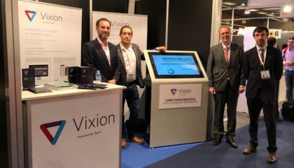 sponsables de Vixion Connected Factory, tecnológica que ha participado en ferias como Advanced Factories, celebrada en Barcelona.