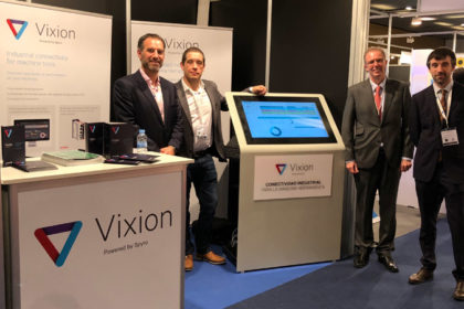 sponsables de Vixion Connected Factory, tecnológica que ha participado en ferias como Advanced Factories, celebrada en Barcelona.