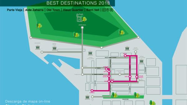 Donostia San Sebastián Parte Vieja BEST DESTINATIONS 2018 Euskadi Basque Country
