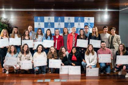 FOTO: Imagen de familia del acto celebrado el pasado viernes en San Sebastián.