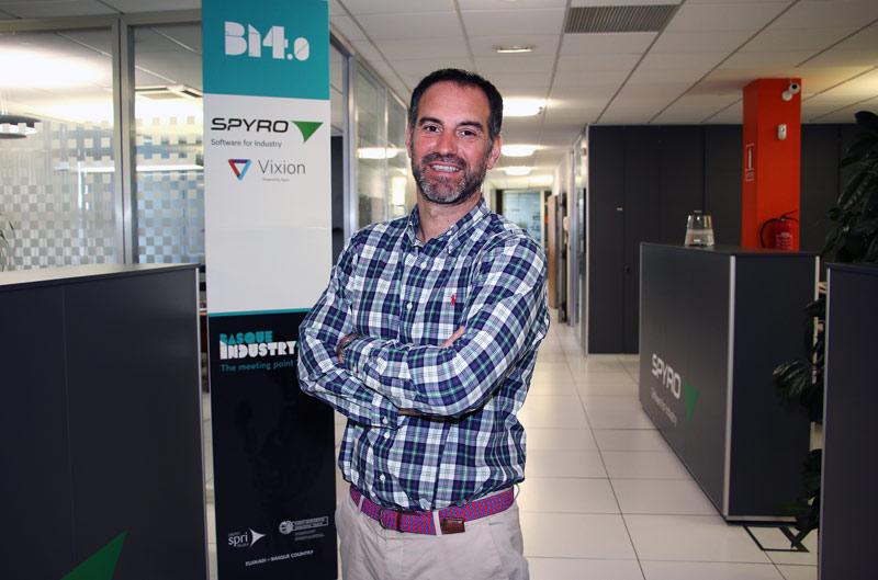 Xabier Bastarrica, nuevo Director Comercial y de Marketing de Grupo SPYRO