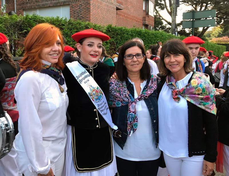 compañía mixta Jaizkibel en el alarde de Hondarribia 2018