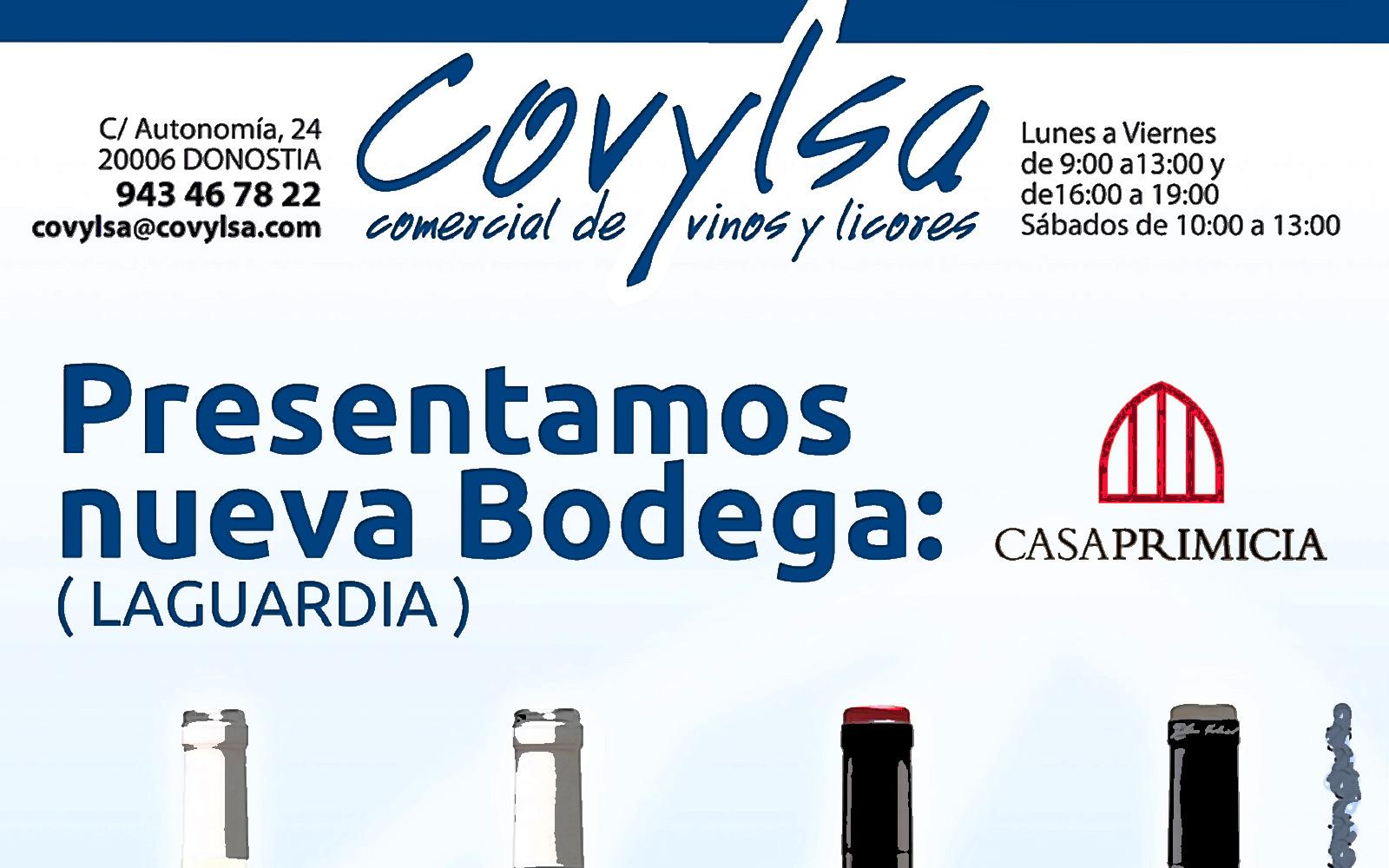 Donostia San Sebastián. COVYLSA