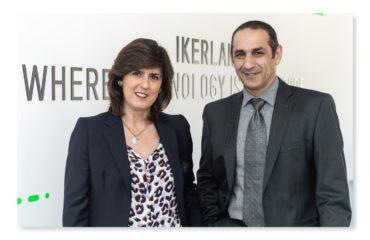 Ikerlan Konnect - Elena Zarraga (LKS) y Marcelino Caballero (Ikerlan) - Foto 3