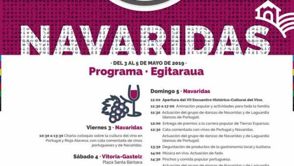 EL VII ENCUENTRO HISTÓRICO-CULTURAL DEL VINO RINDE HOMENAJE A PORTUGAL EN RIOJA ALAVESA