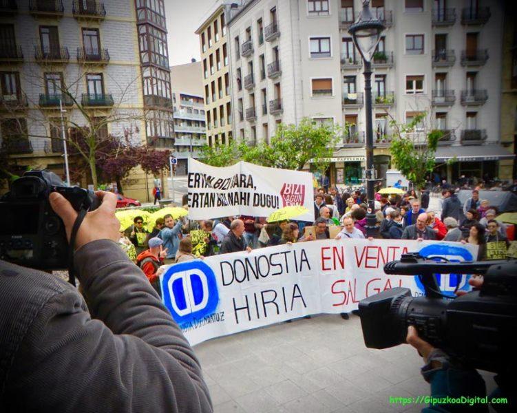 Donostia Vendida 4 mayo 2019