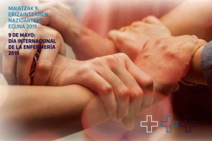 Día Internacional de la Enfermería en Gipuzkoa