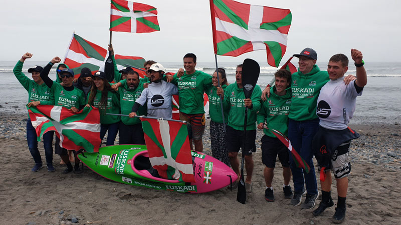 Euskal Selekzioa de kayak