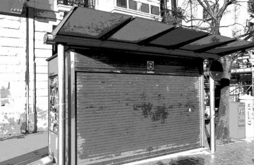 Kiosco-Boulevard cerrado