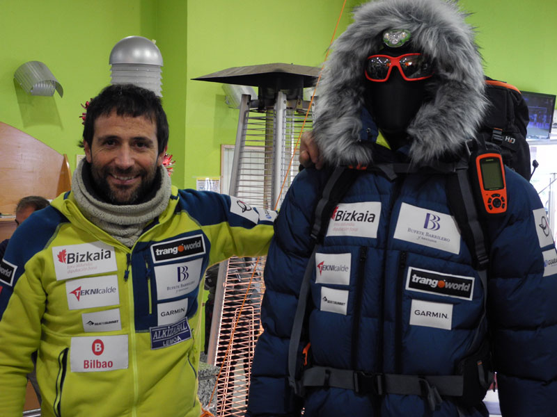 Alex Txikon regresa al Everest invernal