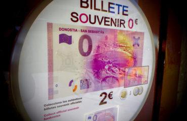 euro souvenir Donostia San Sebastián