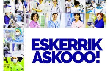 Gobierno Vasco, fuente: Irekia, texto, vídeos, foto y audio.
