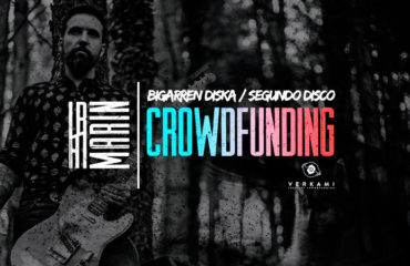 El músico donostiarra Ibai Marin lanza un crowfunding para publicar su segundo disco