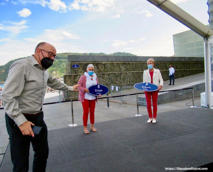 """COEGI-GD La ciudad de San Sebastián inaugura oficialmente la """"Plaza de las Enfermeras"""""""