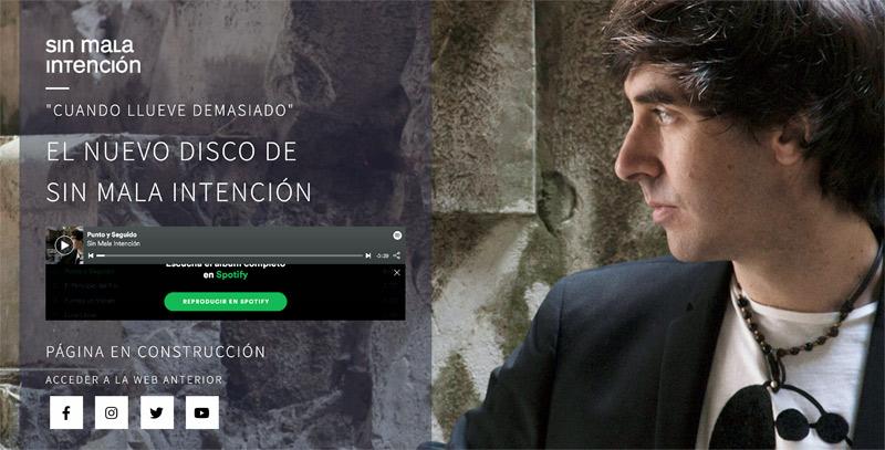 """Nuevo disco de Sin Mala Intención, """"Cuando llueve demasiado"""""""