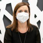 Miriam Miera, paciente intervenida de mioma uterino