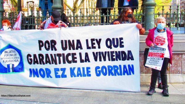 Donostia San Sebastián Ley de Vivienda