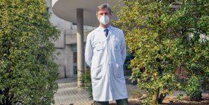FOTO: Gurutz Linazasoro, neurólogo en Policlínica Gipuzkoa.