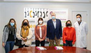 Las farmacias guipuzcoanas y el Teléfono de la Esperanza de Gipuzkoa colaboran para mejorar la calidad de vida y salud emocional de la ciudadanía