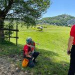 Zeanuri, los Servicios de Emergencias de Euskadi rescatan a un montañero y al menor que le acompañaba tras quedar enriscados en un macizo rocoso Fuente: Irekia