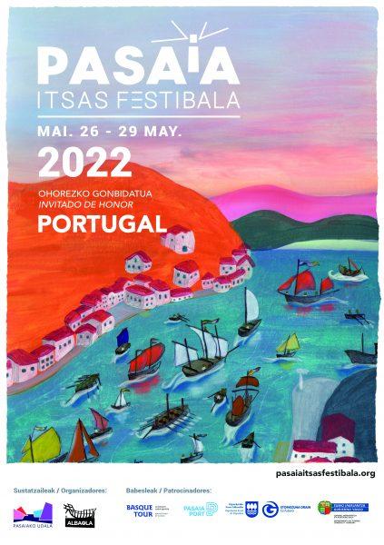 PASAIA ITSAS FESTIBALA 2022 AURKEZPENA 2022ko maiatzaren 26tik 29ra bitarte ospatuko da