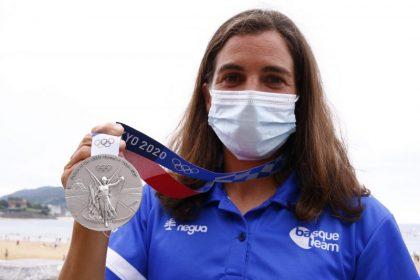 BasqueTeam Maialen Chourraut medalla de plata en Tokio