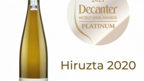 Decanter 2021 Platinum 97 Hiruzta 2020