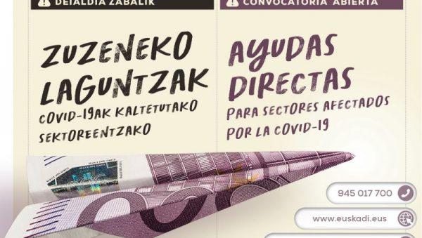 En Euskadi, estas ayudas rondarán los 270 millones de euros (218 millones financiados con fondos estatales y 50 millones adicionales aportados por el ejecutivo vasco) y a ellas podrán acceder 173 actividades económicas, ya que se han añadido 78 nuevos CNAES a los 95 contemplados en el Real Decreto español. Se calcula que aproximadamente podrán acceder a las mismas unos 35.000 beneficiarios.