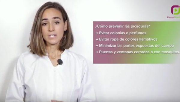 FOTO: Marina Guisasola, farmacéutica, protagoniza el nuevo vídeo consejo del COF Gipuzkoa.