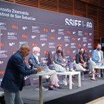 MESA REDONDA EN EL FESTIVAL INTERNACIONAL DE CINE DE San Sebastián