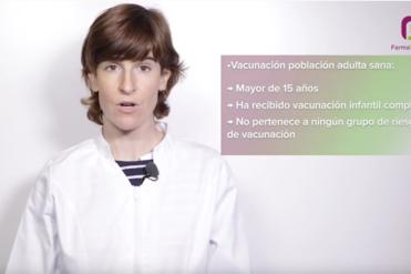La farmacéutica del COFG, Dra. Ainhoa Oñatibia, protagoniza el nuevo vídeoconsejo.